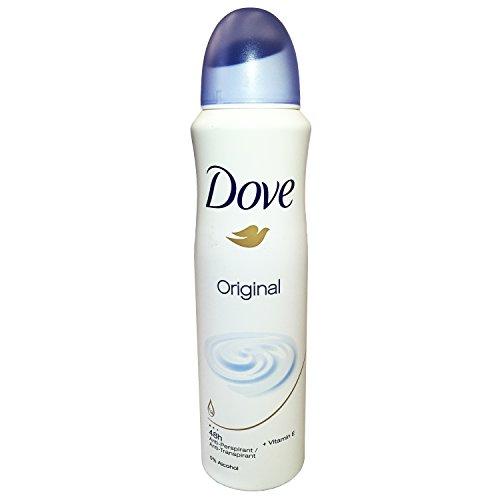 Dove Original Antiperspirant Spray Deodorant For Women 150 ml ( Pack of 10 )