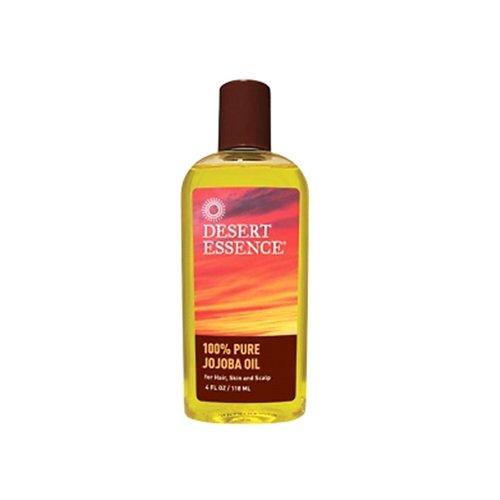 Desert Essence 100% Pure Jojoba Oil, 4-Ounce, Bottle