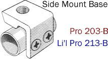 Driftmaster Rodholder Base Style Side Mount – 203B Pro Series – 1/2″ Threaded Center Hole Review