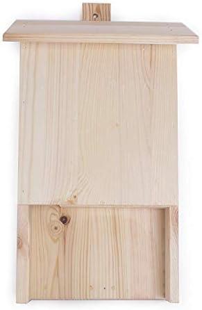 Search Box Fledermaushaus Nistkasten aus Holz einfarbig