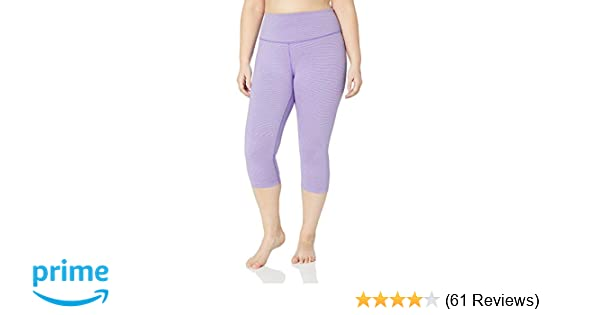 07bf44771d6 Amazon.com  Amazon Brand - Core 10 Women s (XS-3X)  Spectrum  Yoga High  Waist Capri Legging - 19