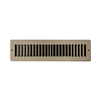 Accord Toe Space Grille with 1/2-Inch Fin Louvered