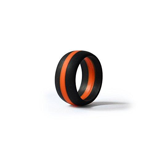 Thin Orange Line Silicone Wedd