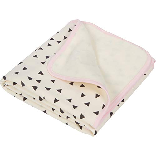 """Luxury Plush Single-Layer Baby Blanket. 30""""x35"""" Pink Trim. Best Baby Shower and Easter Gift for Newborns, Infant, Toddlers"""