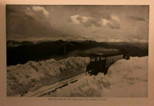 (1906 Pike's Peak Centennial Garden of Gods Cripple Creek illustrated)
