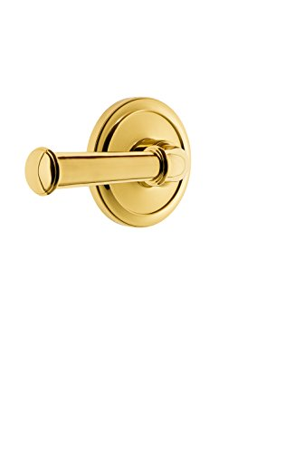 Grandeur 820131 Circulaire Rosette Double Dummy with Georgetown Lever in Lifetime Brass