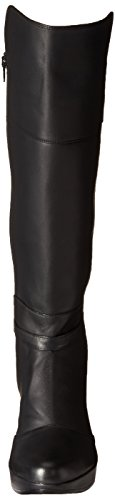 discount wiki exclusive online Naot Women's Delilah Boot Jet Black Leather/Black Stretch clearance new styles kfj6bP8MQ