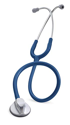 3M Littmann Stethoscope, Master Classic II, Navy Blue Tube, Silver Chestpiece, 27 inch, 2147