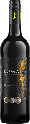 Kumala Pinotage Wine 2018/2019, 75 cl, Case of 6