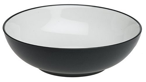 Noritake Colorwave Round Vegetable Bowl, - Square Graphite Noritake Colorwave