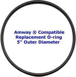 "Amway Compatible Fit O-ring 5"" outer diameter"