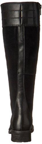 Timberland Bethel de la mujer alturas medium-shaft Boot Black Euroveg/Suede