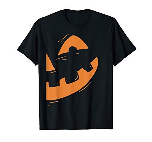 Couples Halloween Shirts (Jack-O-Lantern Shirt Pumpkin Face Halloween Matching)