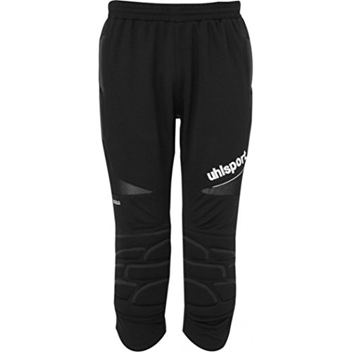(uhlsport Mens ANATOMIC Goalkeeper 3/4 padded trousers For Soccer)