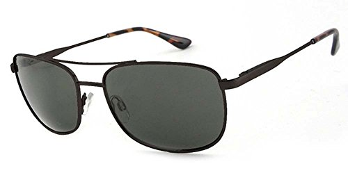 Pepper's Hilo Polarized Oval Sunglasses, Black, 58 - Hilo Sunglasses