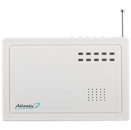 AtlanticS PB-205R Alarma Repetidor 12 V, blanco: Amazon.es ...