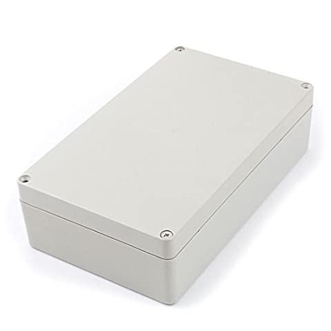 Uxcell a15101600ux0119 Outdoor Plastic Enclosure Industrial Project Junction Box 160x110x90mm,