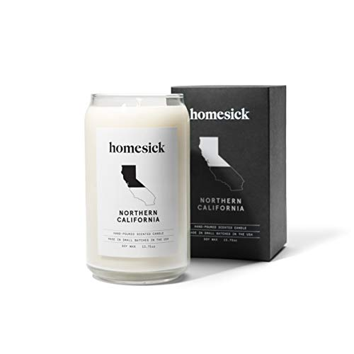 Homesick Scented Candle, Northern California (Best Cinnamon Rolls San Francisco)