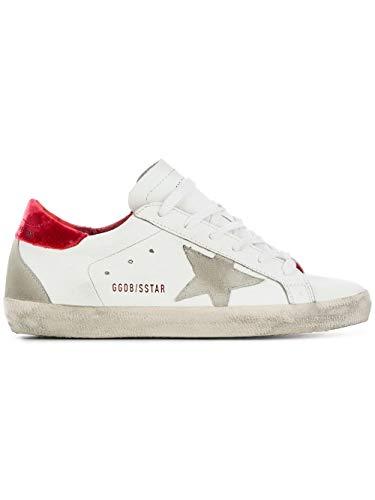 Bianco Pelle Sneakers G33ws590l81 Donna Goose Golden gZqSTq