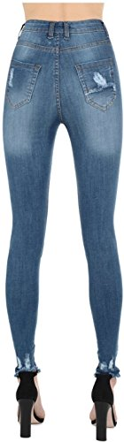 Multicoloured Cabana Blue Real Jeans 34 Femme HOXTON qqRx6B