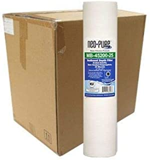 """product image for Neo-Pure 20"""" BB Graded Density Polypropylene Sediment Filter 75/25 mic - 6-Pack"""