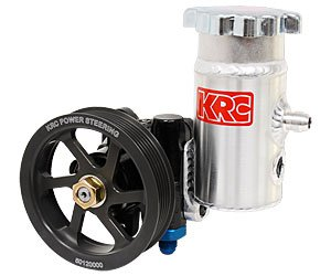 KRC Power Steering KRC 50020100 Cast Iron Pump (with Bolt-On Tank w/6-Rib Pulley) ()
