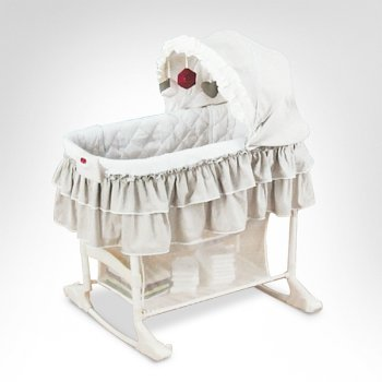 Amazon Com Simplicity 3 45 In 45 1 Bedside Bassinet Baby
