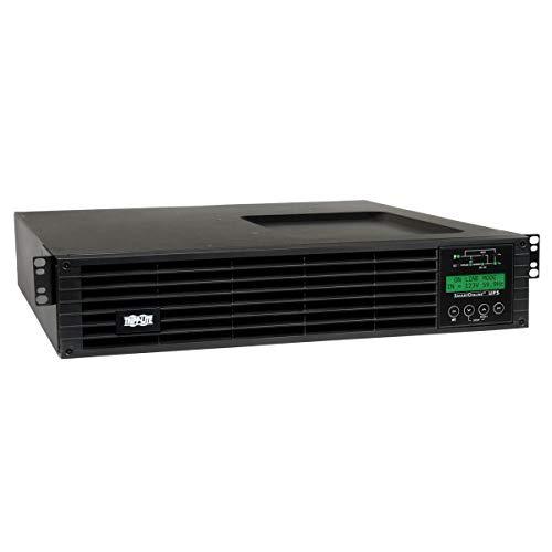 (Tripp Lite 2200VA Smart Online UPS, 1.8kW Double-Conversion with Preinstalled WEBCARDLX 2U LCD USB DB9 (SU2200RTXLCDN))