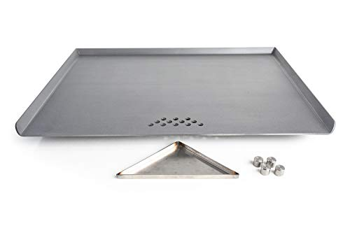 Stove Flat Top Griddle for Glass Ceramic Radiant Range by Steelmade USA (Best Flat Top Stove)