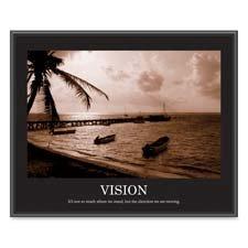 "Vision Poster, 24""x30"", Black Frame"