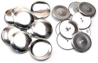 29mm くるみボタン 足なしタイプ セット 10個 3パッケージセット ※くるみボタン打ち具は別売