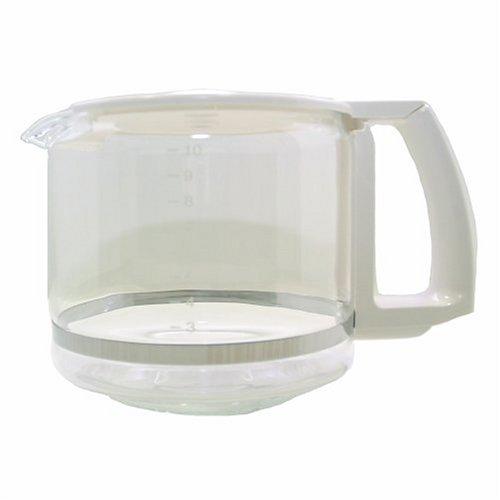 Krups KR016-70 Carafe, White, 10-Cup