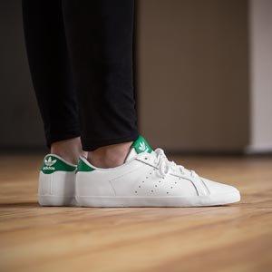 adidasMiss Stan - Zapatillas de Deporte Mujer blanco verde
