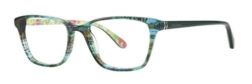 Lilly Pulitzer DELFINA Sea Grass Eyeglasses Size51