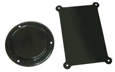Compatible With 1960-1981 GM Camaro Chevelle 442 GTO Firewall Heater Delete Plates Panel AC Cars ()