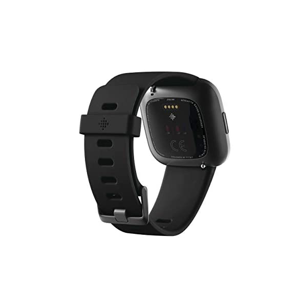 Fitbit Versa 2 Health and Fitness Smartwatch with Heart Rate, Music