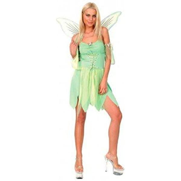 Carnaval Disfraz hada verde mujer: Amazon.es: Hogar