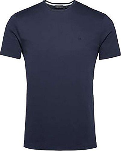 CALVIN KLEIN Herren T-Shirt blau marineblau