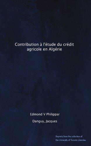 contribution-a-letude-du-credit-agricole-en-algerie-french-edition