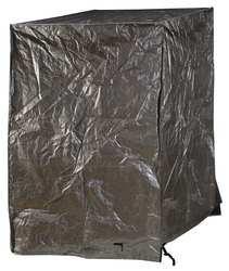 - Industrial Grade 3ZRU1 Pallet Cover Tarpaulin, 48x48x48In