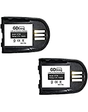 2 Pack of 'GD Living' Replacement Battery for Plantronics Savi Wireless Headset