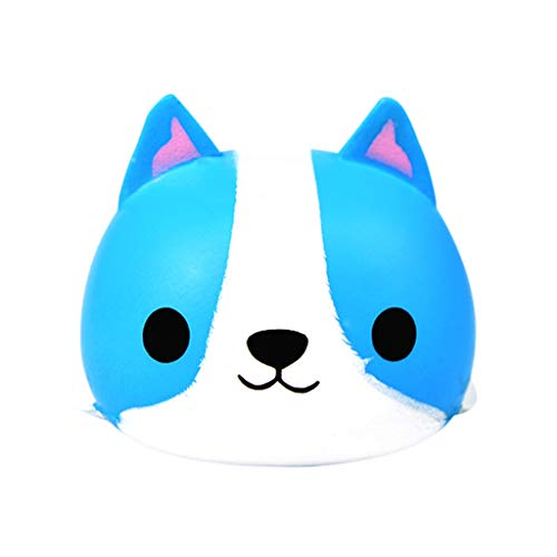 Livoty Jumbo Squishies Toy Beautiful Rabbit Slow Rising Cute Cream Scented Squishy Toys Stress Relief Toy for Kids (Blue) by Livotyy (Image #5)