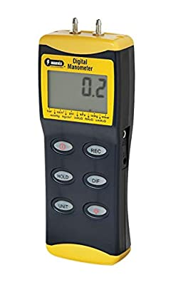 General Tools & Instruments DM8200 Digital Manometer with Range of 0 to 100 psi