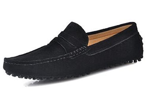Heren Casual Comfort Lederen Mocassin Loafers Voor Buiten Lage Bootschoenen