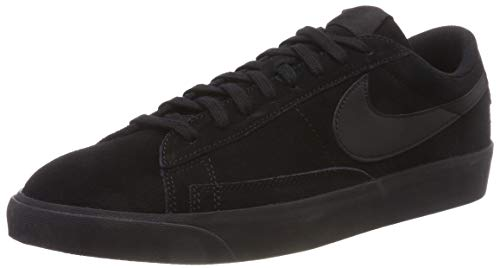 001 Basketballschuhe Low Le Herren Nike Blazer Schwarz Black wxq0xRIt