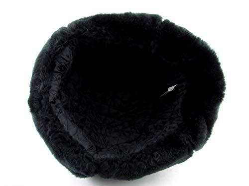 b574e4d36 Russian Soviet Army Fur Military Cossack Ushanka Hat (Black, 60 (L))