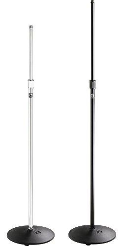 Price comparison product image Atlas Sound MS-12C Round Base Mic Stand Chrome