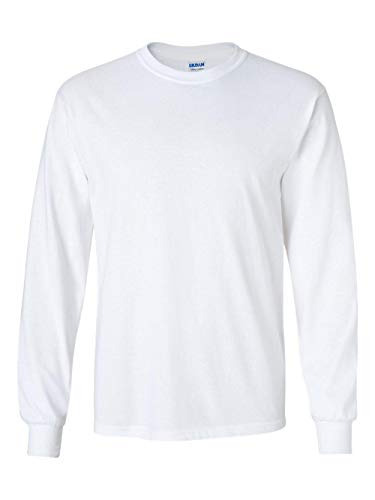 Gildan Ultra Cotton - 100% Cotton Long-Sleeve T-Shirt. G2400