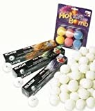 Lion 3 Star Ping Pong Tournament Pratice & Match Play Table Tennis Ball Pack 12 by Lion