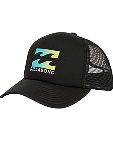 Amazon.com  Billabong Men s Podium Trucker Hat Black One Size  Clothing 8bb7419bb42d